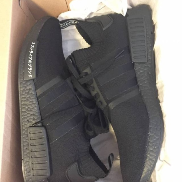 Adidas NMD R1 (Limited Edition) *Japan Boost Black Boutique
